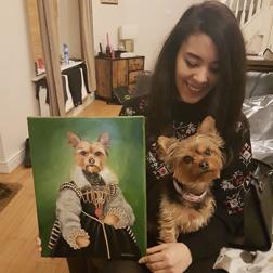 commission a portrait painting the portrait