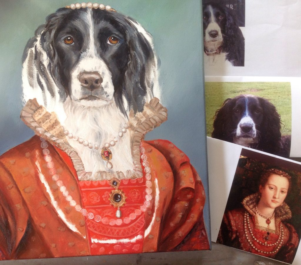 carol lew old world pet portraits