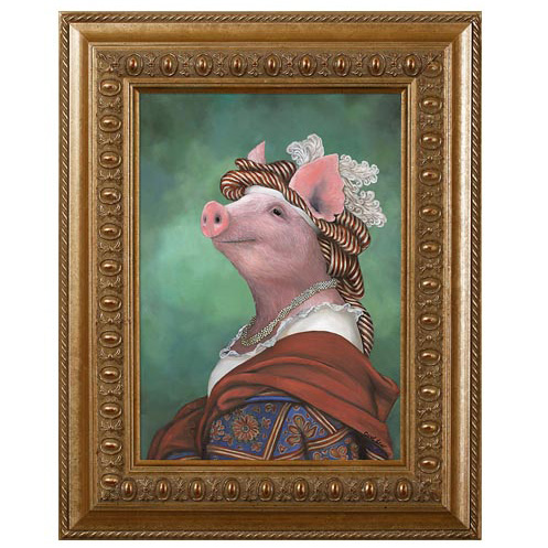 Pig kitchen decor