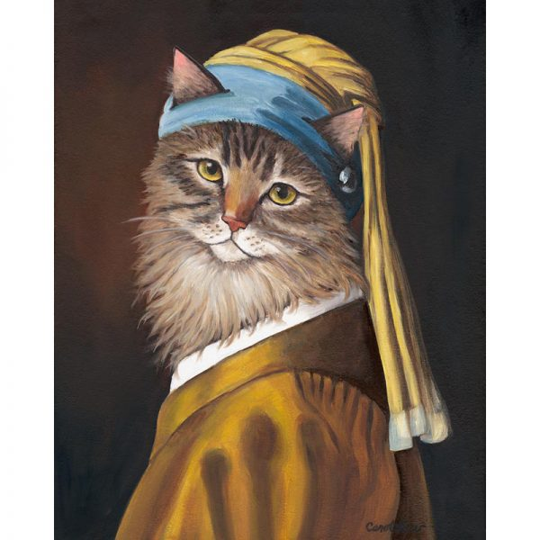cats in medieval paintings