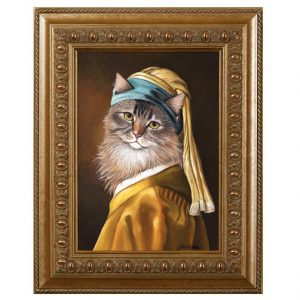maine coon cat art