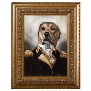 pitbull dog art