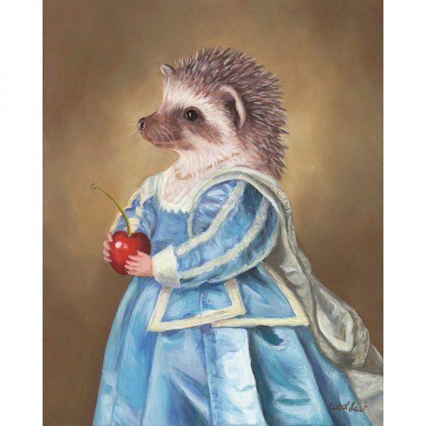 hedgehog prints