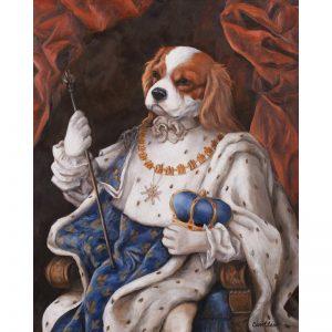 cavalier king charles spaniel prints