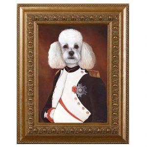 standard poodle art