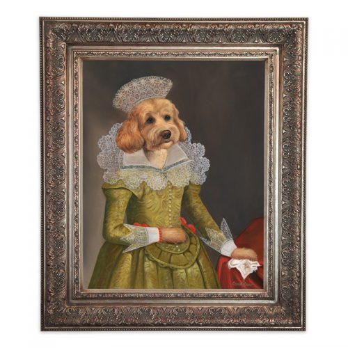 goldendoodle wall art