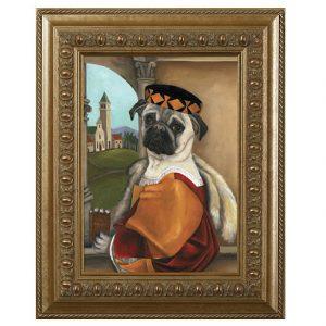 fawn pug dog
