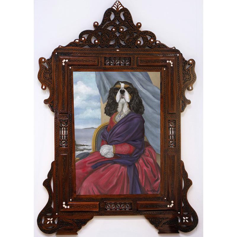 cavalier king charles spaniel art