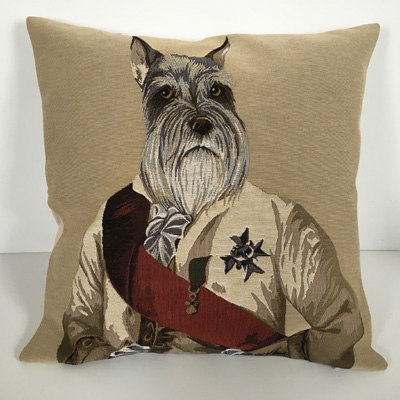 Schnauzer Pillow